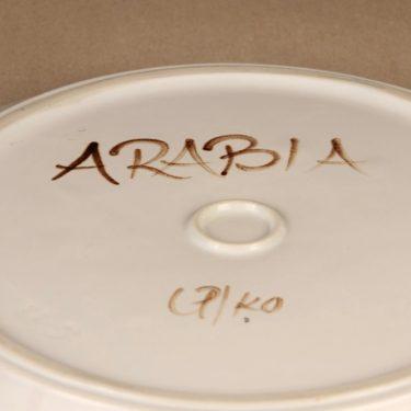 Arabia Rosmarin tarjoiluvati, käsinmaalattu, suunnittelija Ulla Procope, käsinmaalattu kuva 3