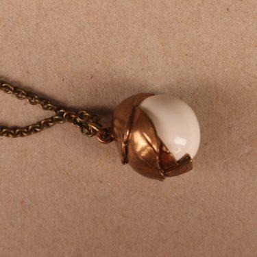 Kalevala Koru Tintti pendant, bronze, necklace