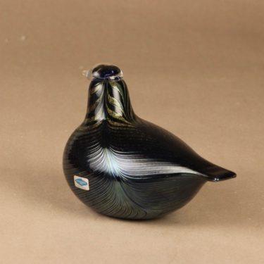 Nuutajärvi limited edition bird to Kansallis-Osake-Pankki designer Oiva Toikka 3