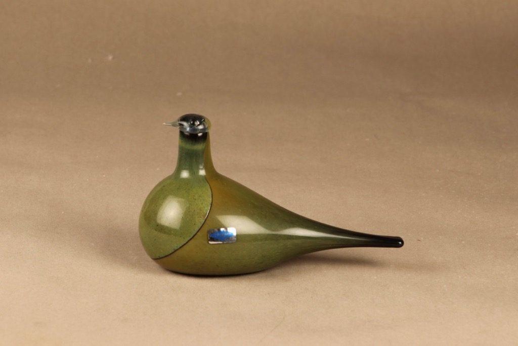 Nuutajärvi bird Sipi designer Oiva Toikka