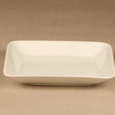 Arabia Kilta serving plate, white designer Kaj Franck