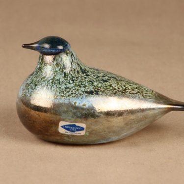 Nuutajärvi limited edition bird to Lamino Oy designer Oiva Toikka