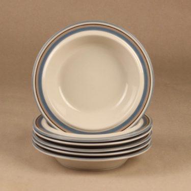 Arabia Uhtua soup plate designer Inkeri Leivo