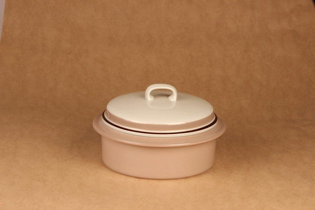 Arabia Koralli bowl with lid designer Raija Uosikkinen