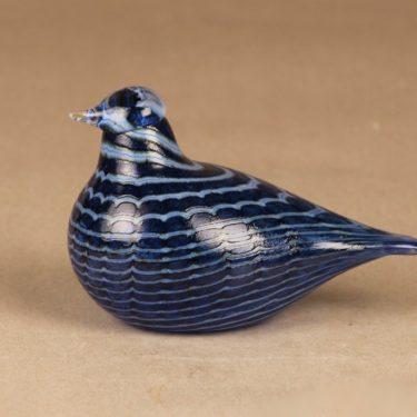 Nuutajärvi bird Bluebird designer Oiva Toikka