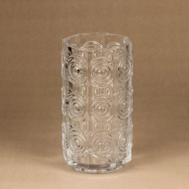 Riihimäen lasi Rengas vase  designer Tamara Aladin