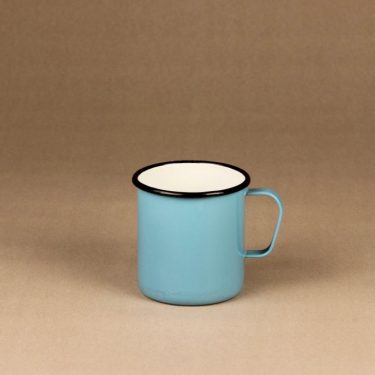 Finel enamel mug blue