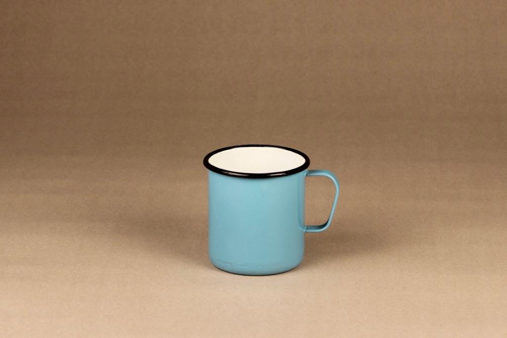 Finel enamel mug blue