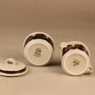 Arabia Ruija sugar bowl and creamer designer Raija Uosikkinen 2