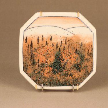 Arabia autumn wall plate, limited edition designer Heljä Liukko-Sundström