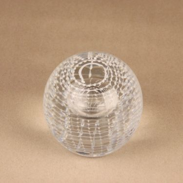 Nuutajärvi art glass, signed, numbered designer Oiva Toikka 2