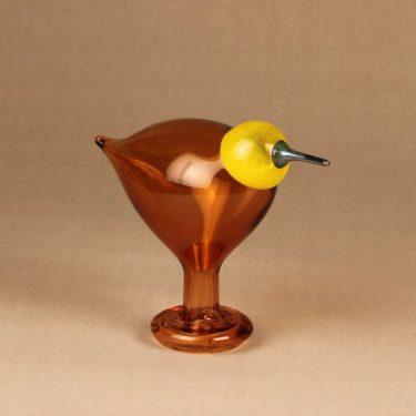 Iittala lintu , Dyynia, numeroitu, suunnittelija Oiva Toikka, Dyynia, numeroitu, signeerattu, numeroitu kuva 2
