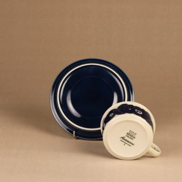 Arabia Anemone tea cup and plates, hand-painted designer Ulla Procope 4