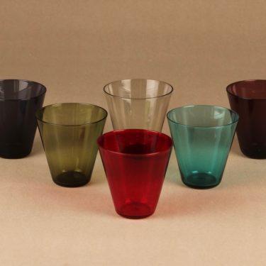 Nuutajärvi Kimara glass set, 6 pcs designer Kaj Franck