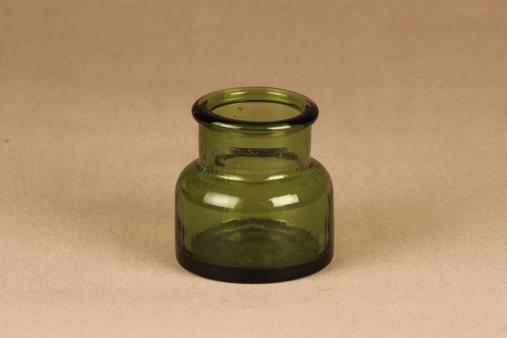 Riihimäen lasi Neptuna jar small designer Nanny Still