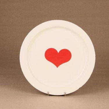 Finel Sydän enamel dinner plate designer Gunvor Olin-Grönqvist 2