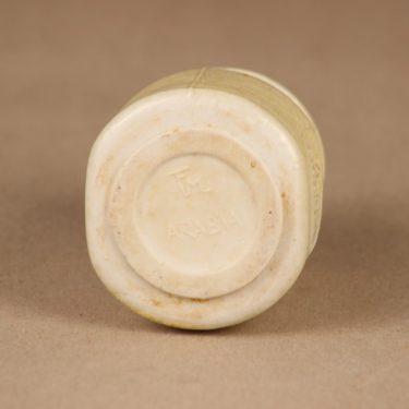 Arabia maustepurkki, Valkopippuria, suunnittelija Francesca Lindh, Valkopippuria, käsinmaalattu kuva 3