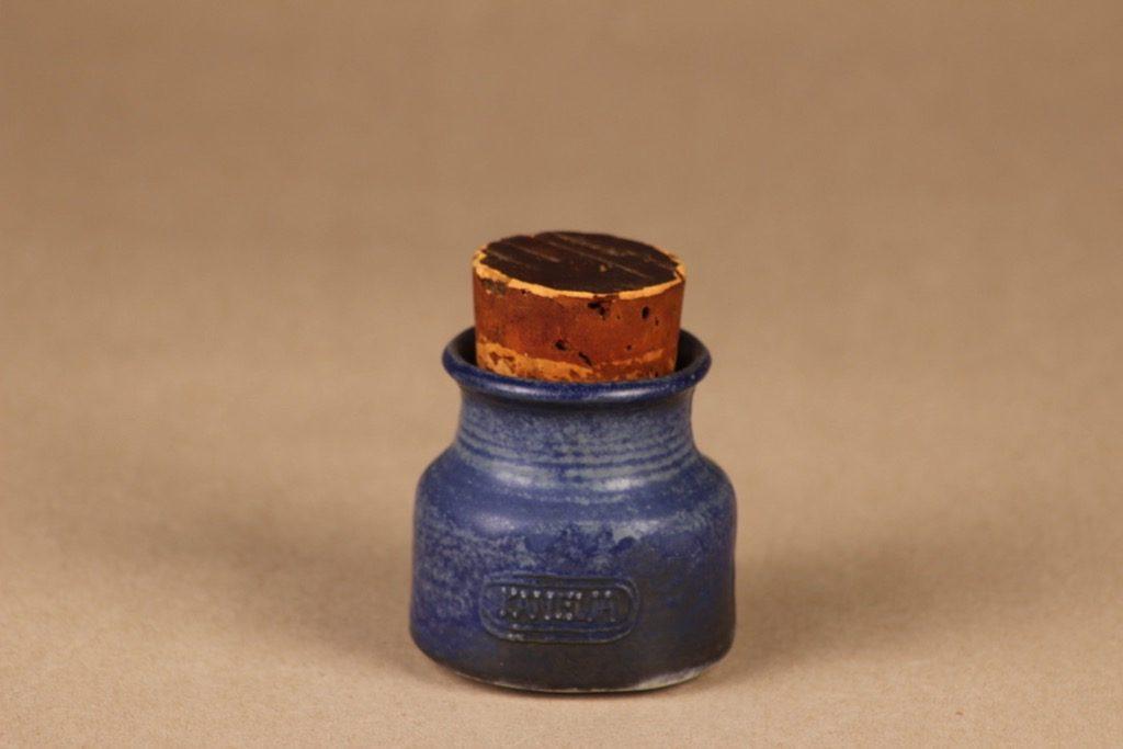 Arabia maustepurkki, Kanelia, suunnittelija Francesca Lindh, Kanelia, käsinmaalattu