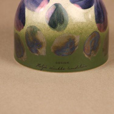 Arabia Violetti Anemone ikikukka, käsinmaalattu, suunnittelija Heljä Liukko-Sundström, käsinmaalattu, kukka, anemone kuva 3
