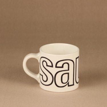 Arabia Sauna mug, 4.5 dl designer Gunvor Olin-Grönqvist