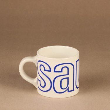 Arabia Sauna mug, blue 4.5 dl designer Gunvor Olin-Grönqvist