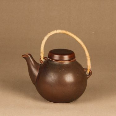 Arabia GA1 tea pitcher 0.7 l, brown designer Ulla Procope