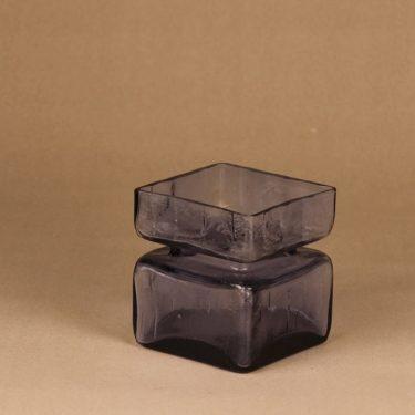 Riihimäen lasi Pala maljakko, neodymi, suunnittelija Helena Tynell,