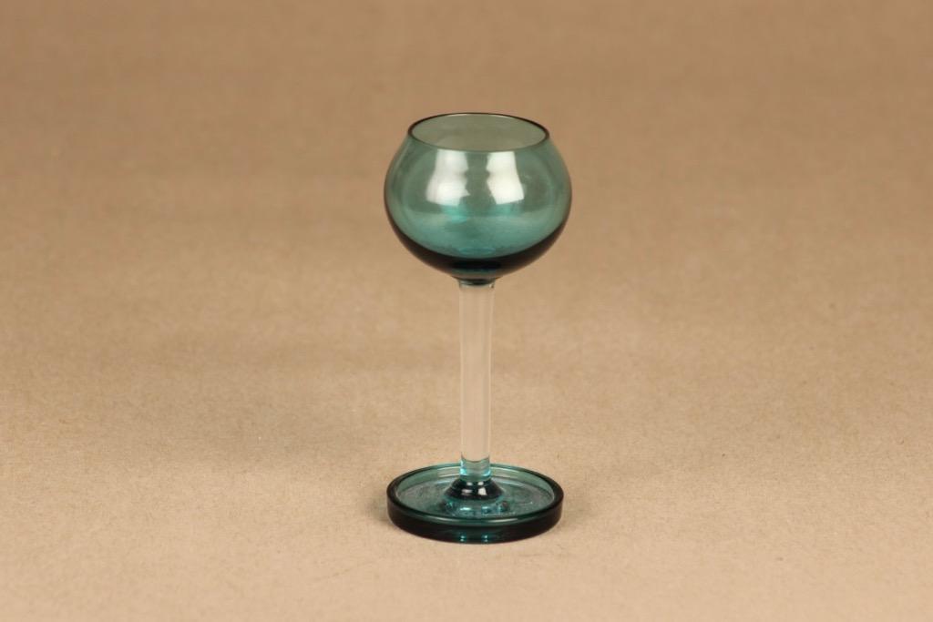Riihimäen lasi Harlekiini liquer glass designer Nanny Still