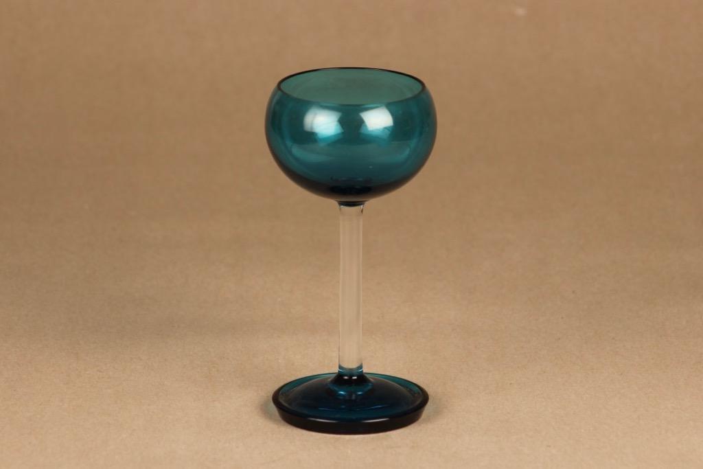 Riihimäen lasi Harlekiini stark wine glass designer Nanny Still