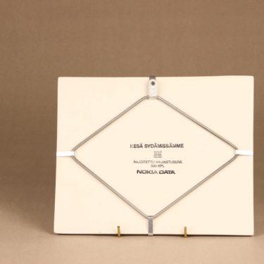 Arabia wall plate Summer in our hearts designer Heljä Liukko-Sundström 2