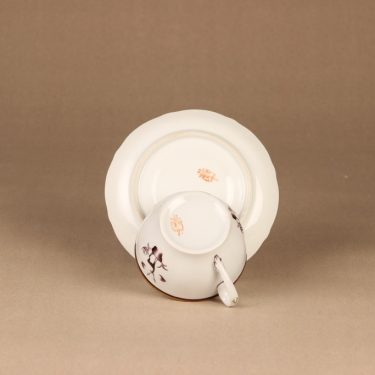 Arabia Diana teekuppi, suunnittelija Einar Forseth, art deco, painokoriste kuva 4