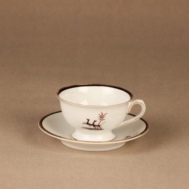 Arabia Diana kahvikuppi, suunnittelija Einar Forseth, art deco, painokoriste kuva 2