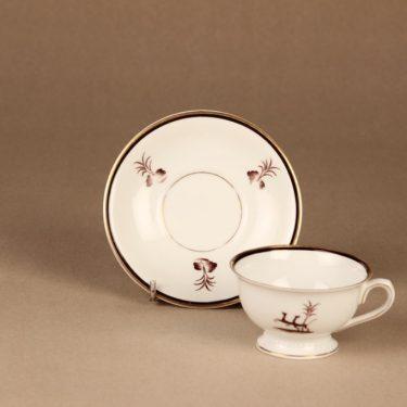 Arabia Diana kahvikuppi, suunnittelija Einar Forseth, art deco, painokoriste kuva 3