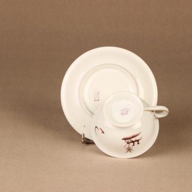 Arabia Diana kahvikuppi, suunnittelija Einar Forseth, art deco, painokoriste kuva 4