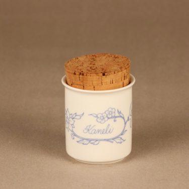 Arabia Sininen keittiö maustepurkki, kaneli, suunnittelija , kaneli, serikuva