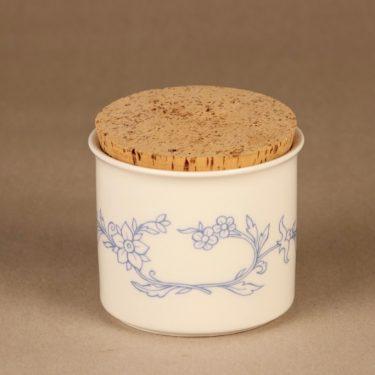 Arabia Sininen keittiö maustepurkki, sinivalkoinen, suunnittelija , serikuva