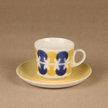 Arabia Tatti kahvikuppi, puhalluskoriste, suunnittelija , puhalluskoriste
