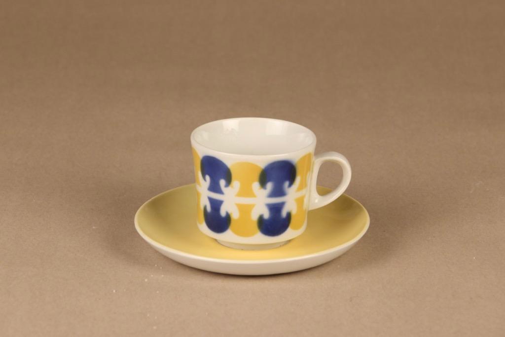 Arabia Tatti coffee cup, blow decorative