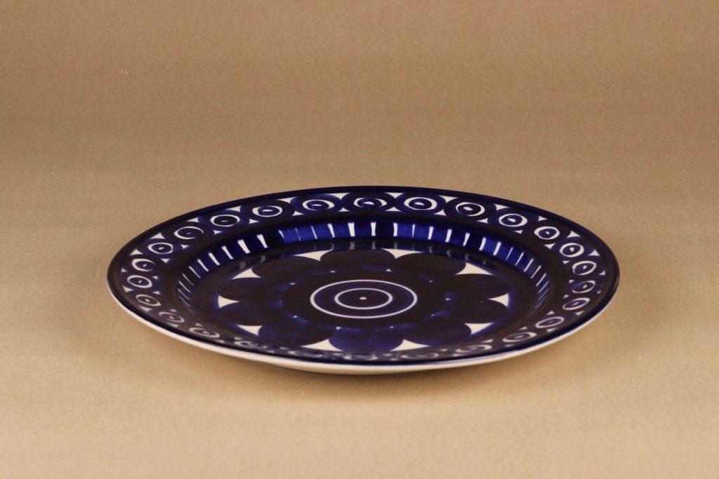 Arabia Valencia tarjoiluvati, käsinmaalattu, suunnittelija Ulla Procope, käsinmaalattu, signeerattu