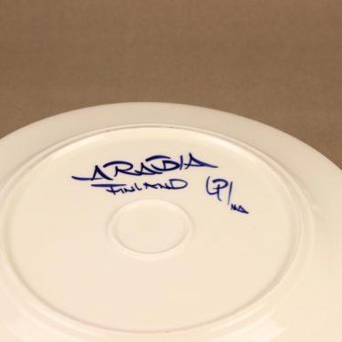Arabia Valencia tarjoiluvati, käsinmaalattu, suunnittelija Ulla Procope, käsinmaalattu, signeerattu kuva 3