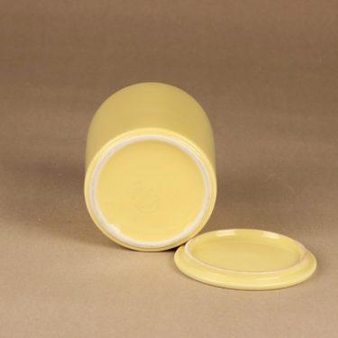 Arabia Kilta jar with lid, yellow designer Kaj Franck 3
