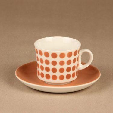 Arabia Pop kahvikuppi, puhalluskoriste, suunnittelija , puhalluskoriste, retro