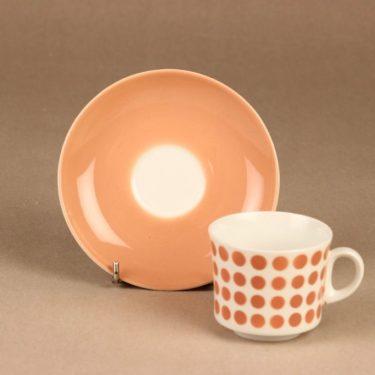Arabia Pop kahvikuppi, puhalluskoriste, suunnittelija , puhalluskoriste, retro kuva 2