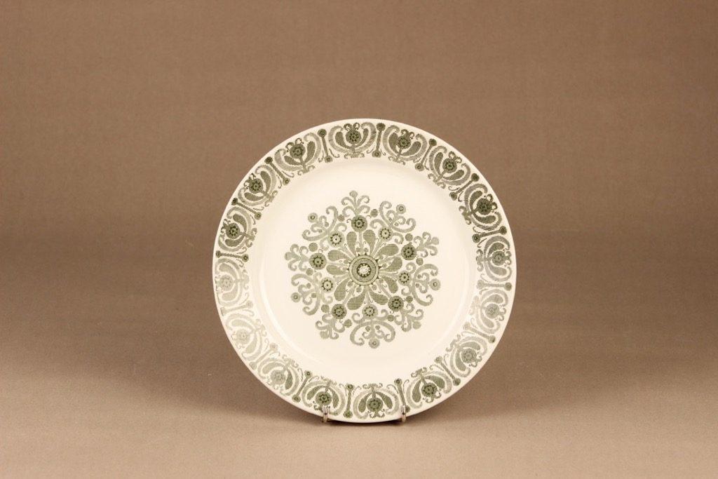 Arabia Sampo dinner plate designer Raija Uosikkinen