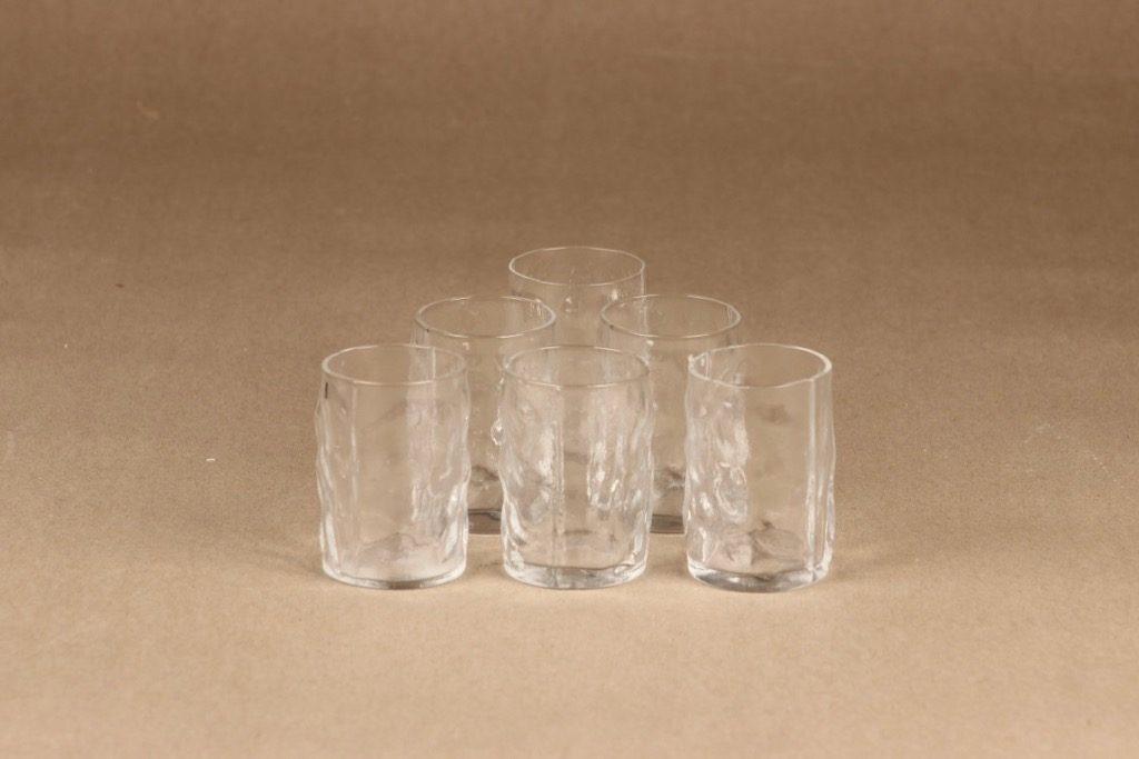 Humppila Fantasia schnapps glass, 6 pcs designer Henrik Koivula