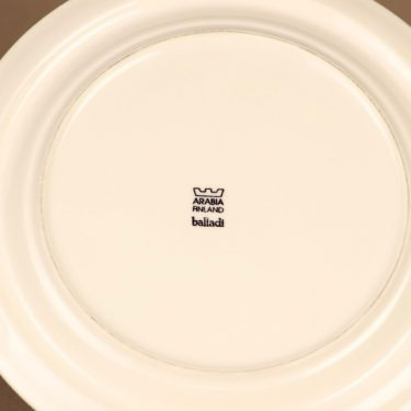 Arabia Balladi dinner plate designer Heikki Orvola 3