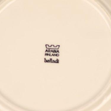 Arabia Balladi salad plate designer Heikki Orvola 3