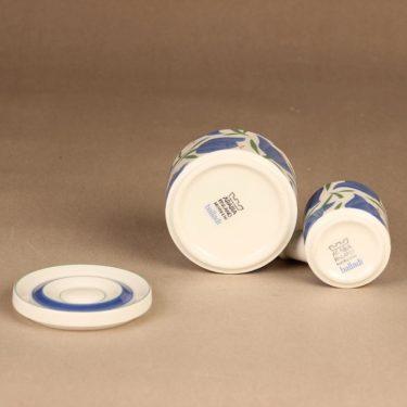 Arabia Balladi sugar bowl and creamer, diameter Heikki Orvola, 2
