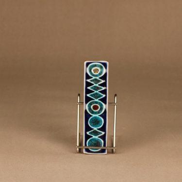 Arabia Ornamentti koristelaatta, käsinmaalattu, suunnittelija Annikki Hovisaari, käsinmaalattu, signeerattu