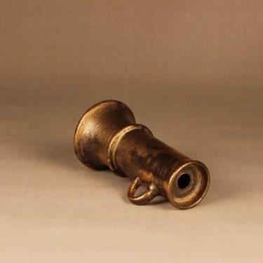 Savitorppa kynttilänjalka, signeerattu, suunnittelija Kauko Forsvik, signeerattu, käsindreijattu, kullattu kuva 2